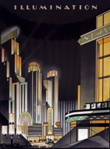 new yor, siracusa, art deco, architecture, graphic, electricity, energy