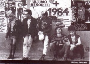 ultimo resorte, 1984, sidecar, barcelona